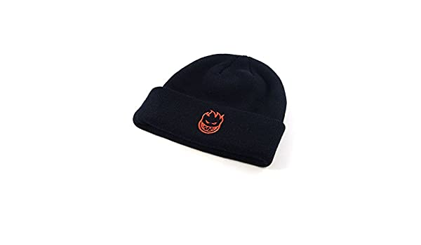 0c6a8e5fa24 Amazon.com  SPITFIRE Skateboard BEANIE BIGHEAD EMB BLACK RED  Sports    Outdoors
