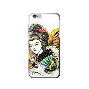 """Geisha Yellow Snake Tattoo inches iphone 5C Case,fashion design image custom iphone 5C inches case,durable iphone 5C hard 3D case cover for iphone 5C """", iphone 5C Full Wrap Case"""