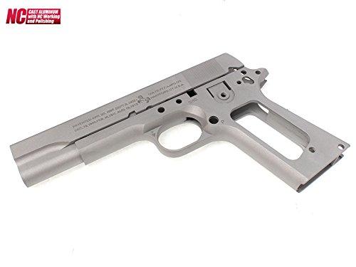 GUARDER M1911A1 COLT アルミスライド&フレーム シルバー B01AUFZ6QM