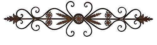 Deco 79 80209 Metal Wall Plaque, 62