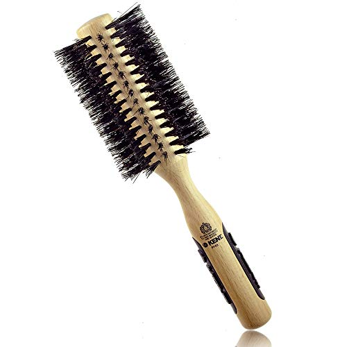 Kent NS03 / PF03 Natural Shine, Pure Boar Bristle, Radial Hairbrush (60mm)