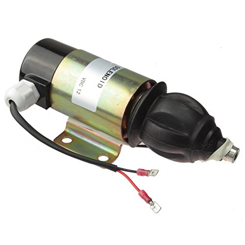 Friday Part Shut Off Stop Solenoid Replace 881531 for Volvo Penta TAMD70E TAMD70D ()