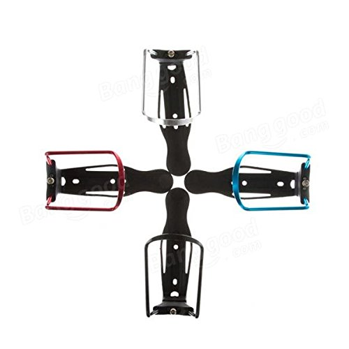 Bike Bicycle Cycling Aluminum Alloy Adjustable Water Bottle Cage Holder ( Black ) by Freelance Shop SportingGoods (Image #4)