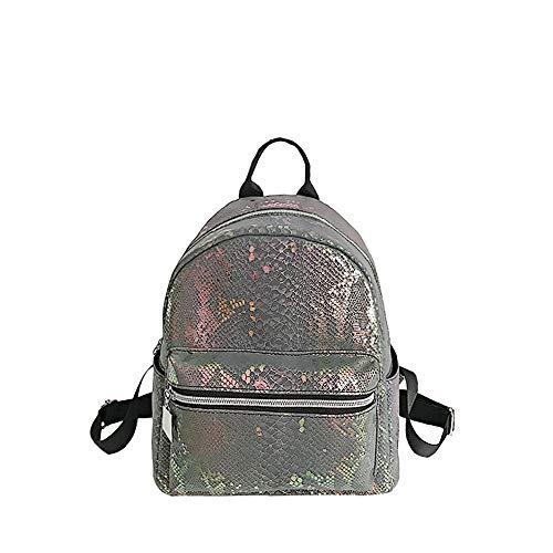 per grandi per Borsa impermeabile Ansenesna sportiva borsa semplice capacità grigio casual tracolla donna studente Borsa per selvatico borsa a g6AgqFwH