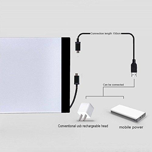 A4 Led Light Pad Ultra Thin Led Tracing Light Box Usb