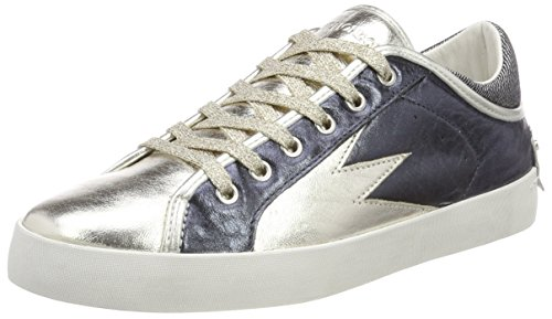 Crime 25310ks1 Marine Mujer Zapatillas Multicolor London para qvqTw