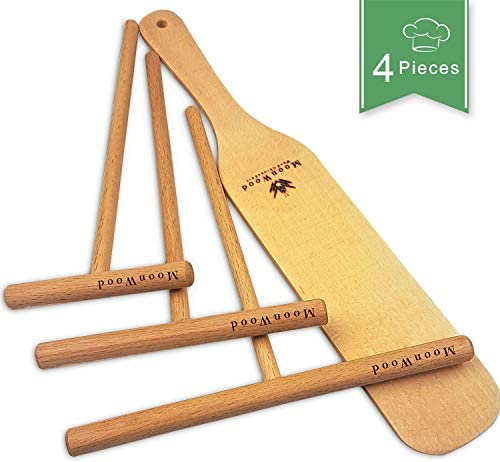 Wooden Crepe Spreader Spatula Set product image