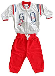 Montefiore Red Suit For Boys