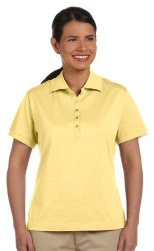 Devon & Jones Womens Executive Club Polo (D440W) -NEW BUTTER -2XL - Mercerized Jersey Polo