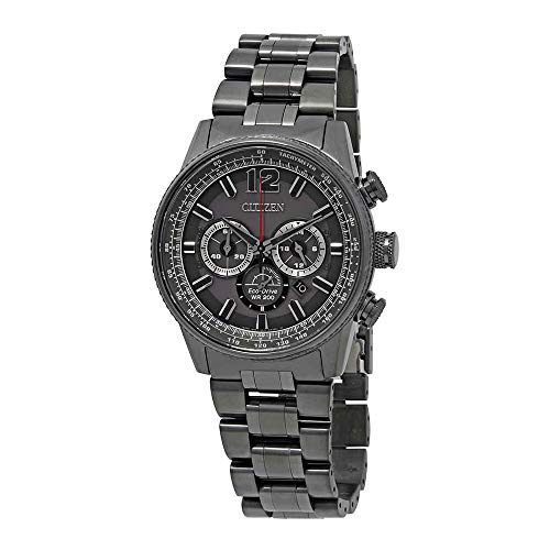 Citizen Watches Men's CA4377-53H Eco-Drive Grey One Size