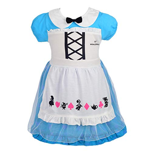 Dressy Daisy Alice Dress for Baby Girls Halloween Fancy Party Costume Dress Size 12-24 Months 150 -