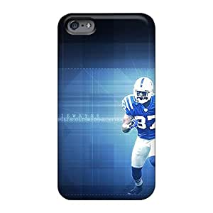 Durable Cell-phone Hard Cover For Apple Iphone 6 Plus With Custom Colorful Indianapolis Colts Pictures JacquieWasylnuk