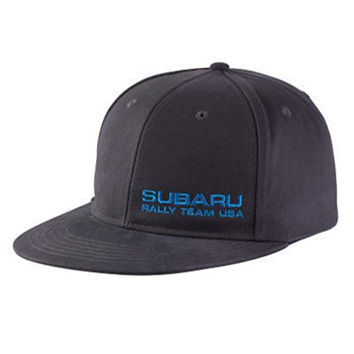 Genuine Subaru Rally Team USA Racing Flat Bill Flat Visor Flatbill Baseball Cap Hat - Racing Team Hat
