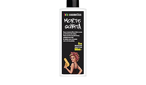 Amazon.com : Linha Morte Subita Lola - Oleo Multifuncional 100 Ml - (Lola Sudden Death Collection - Multi Function Oil 3.38 Fl Oz) : Beauty