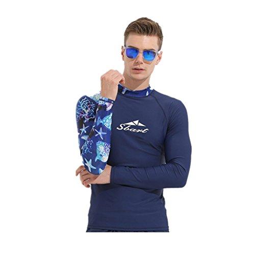 Liny Hombres Traje de Neopreno Wetsuit Traje de BuceoTraje de Baño Man Bañador Swimwear Baño de Natación Swimsuit de Una...