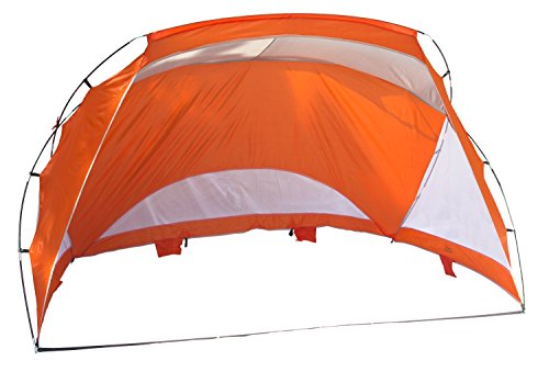 Texsport Portable Easy Up Outdoor Beach Cabana Tent Sun Shade Shelter - Lightweight and Compact