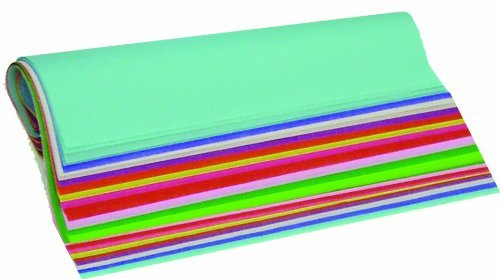 Medley Mix Assorted Tissue Sheets, 480 Sheets, 20