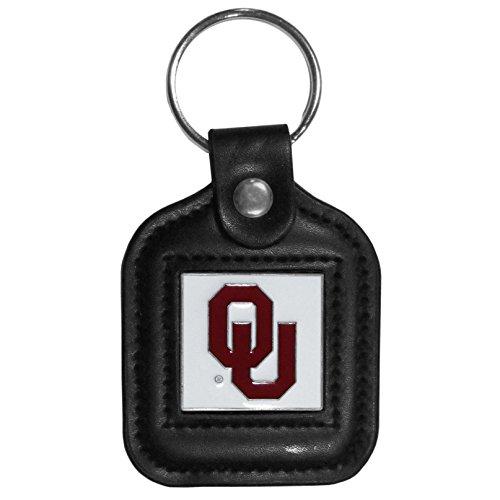 Siskiyou NCAA Square Key Chain Oklahoma Sooners, Black