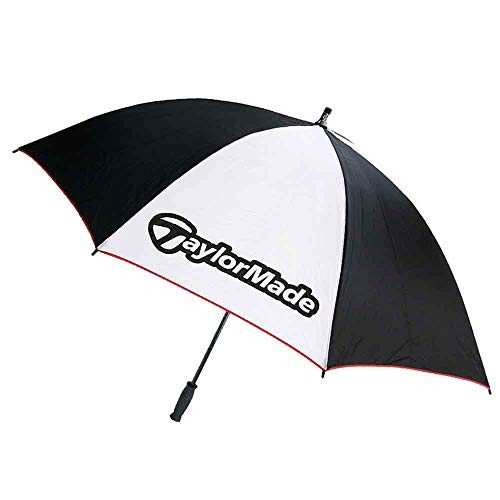 TaylorMade TM Manual Open Single Canopy Umbrella, 60-Inch, White ()