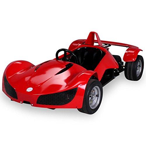 Kinder Elektro MGT Rennwagen 1000 Watt 48 Volt rot Kinder Go-Kart Kinderbuggy Rennauto