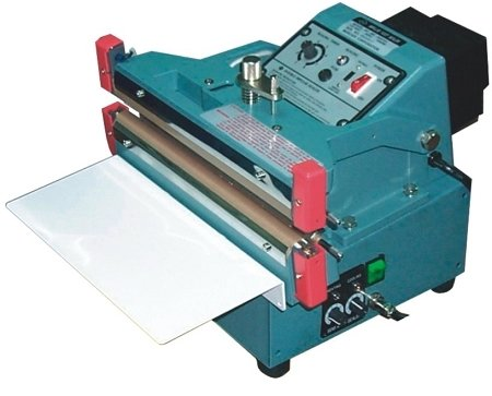 """AIE610FDA 24"""" Double / Single Automatic Impulse Bag Sealer with 10mm Seal from ABC Office"""