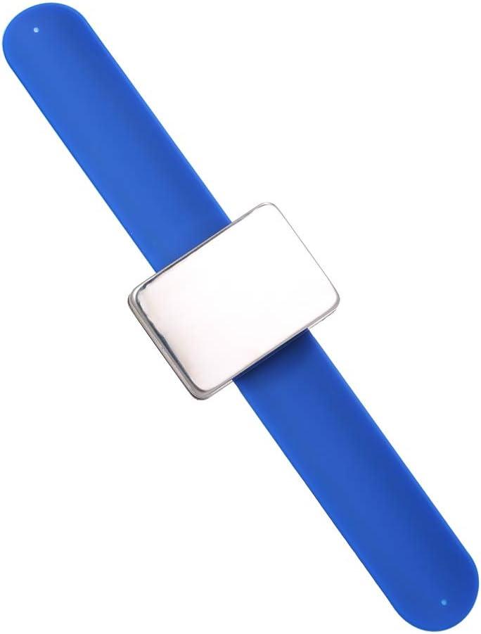 Magnetische Haarspangen einstellbar Silikon Armband Bobby Pins Armband Halter Strap f/ür Haarstyling Zubeh/ör Festnight Werkzeugg/ürtel