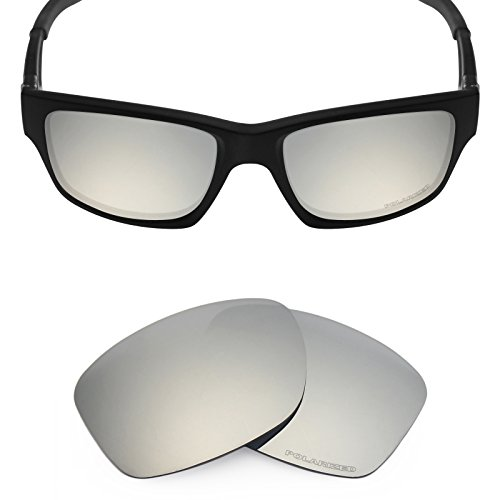 Mryok+ Polarized Replacement Lenses for Oakley Jupiter Squared / Jupiter Carbon - Silver - Squared Polarized Jupiter