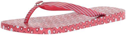 Nautica Women's Mainsheet 2 Flip-Flop, Rose Coral, 7 M US ()