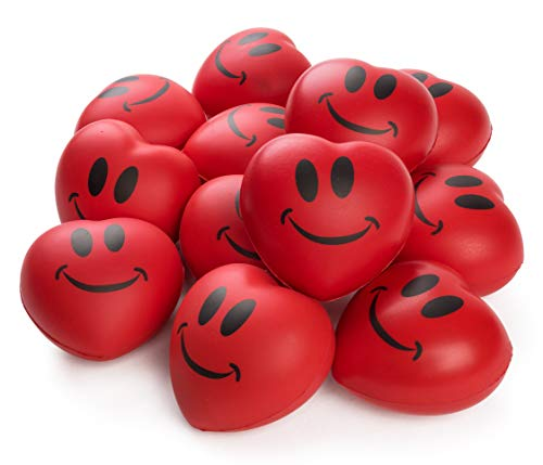 Heart Stress Balls - Neliblu Stress Balls - Red Hearts