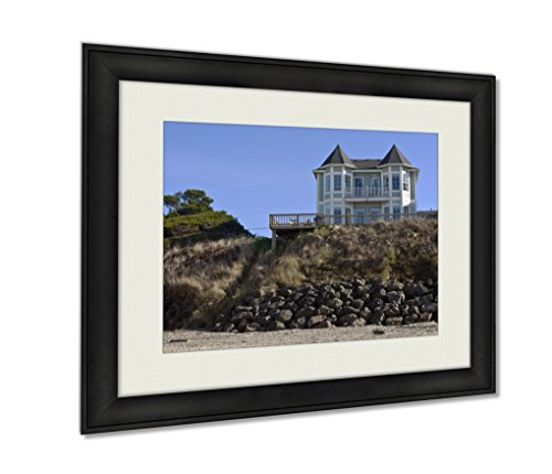 Ashley Framed Prints, Real Estate In Lincoln City Oregon, Wall Art Decor Giclee Photo Print In Black Wood Frame, Ready to hang, 16x20 Art, - City Of Pictures Oregon Lincoln