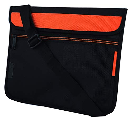 Saco Soft Durable Pouch for iBall Slide Skye 03 Tablet 7 inch   Orange