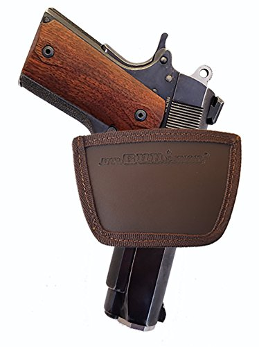 1911 Defender orGUNizer Leather Inside&Outside Waistband Slide Holster (SLH), Brown