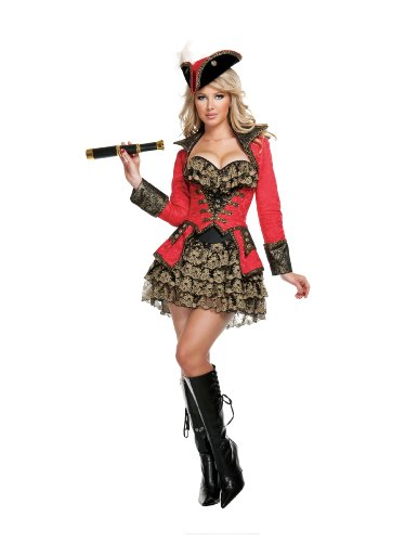 Starline-Sexy-Red-Pirate-Womens-4-Piece-Costume-Set