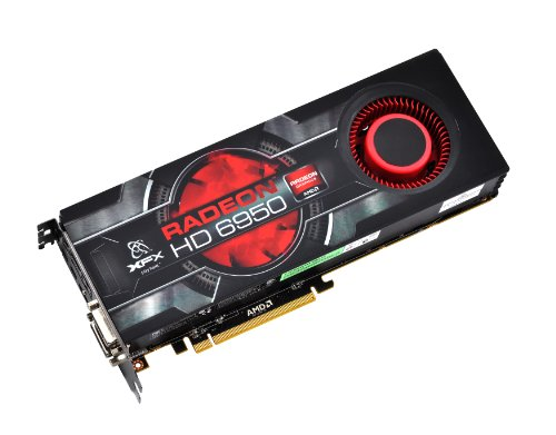 XFX HD-695A-CNFC AMD Radeon HD 6950 2GB Graphics Card (Card 6950 Graphics)
