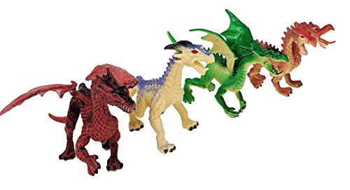 4 Piece Dragon Action Fantasy ()