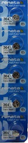 Renata SR621SW Mercury Electronic Batteries