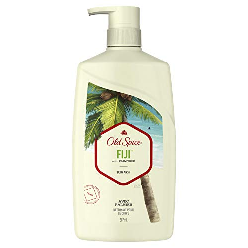 Old Spice Fresher Fiji Scent Body Wash for Men, 30 Fluid Ounce ()