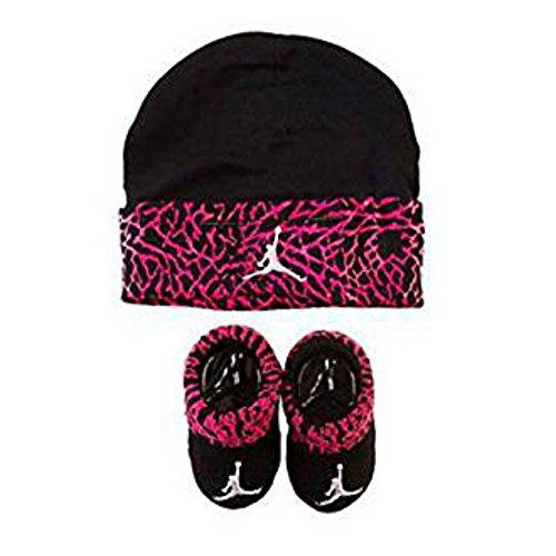 Jordan Infant Elephant Hat and Booties Set Fushia or Red 0-6 Months (flo 28b7823c560