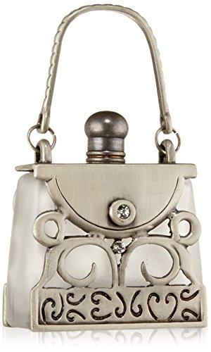 Rucci Antique Handbag Silver Perfume Bottle