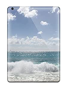 Protective Tpu Cases With Fashion Design For Ipad Air (sea Waves)