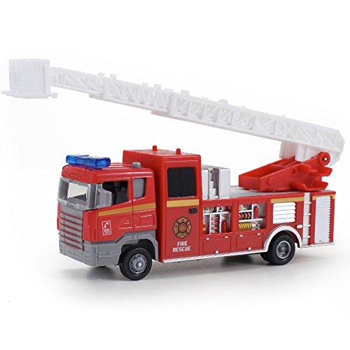 Diecast Pullback Friction Emergency Vehicle