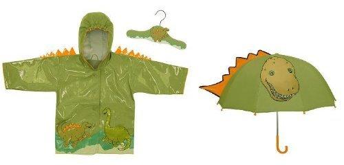 Kidorable Dinosaur Raincoat and Umbrella Set (4/5) dino set