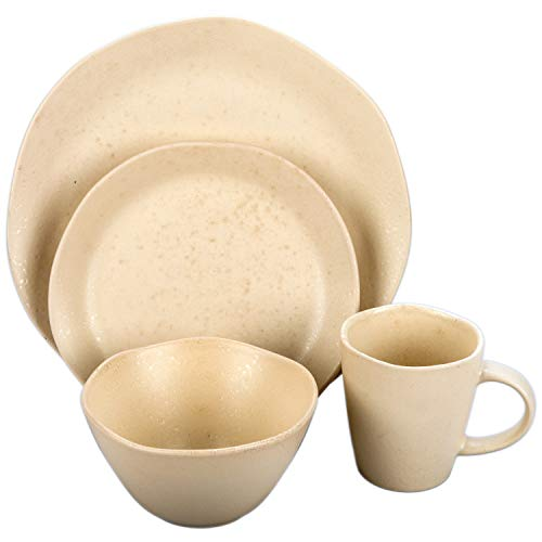 BIA Cordon Bleu 100526S1SIOC Quantum 16pc Dinnerware Set One Size Alabaster