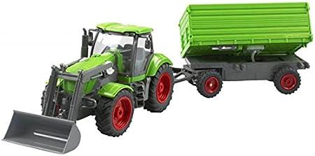 Cartronic cartronic90103RC Escala 1: 28granja Tractor con remolque basculante , color/modelo surtido