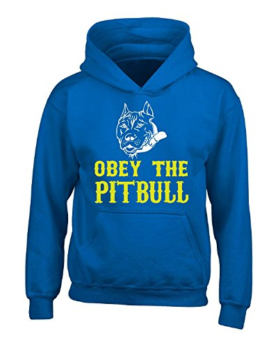 Obey The Pitbull - Adult Hoodie Xl Royal - Obey Pit Bull