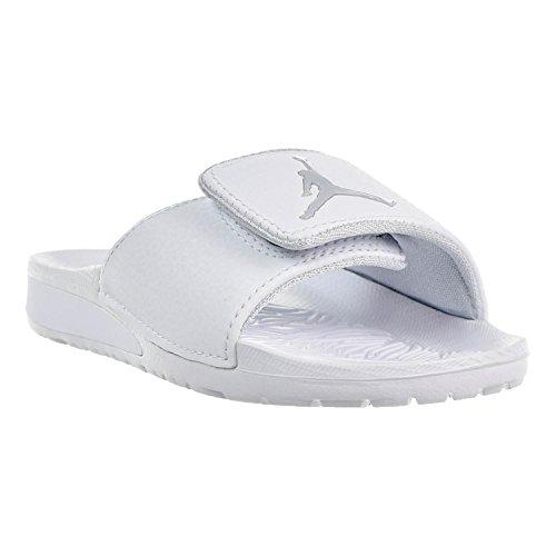jordan slides white - 4