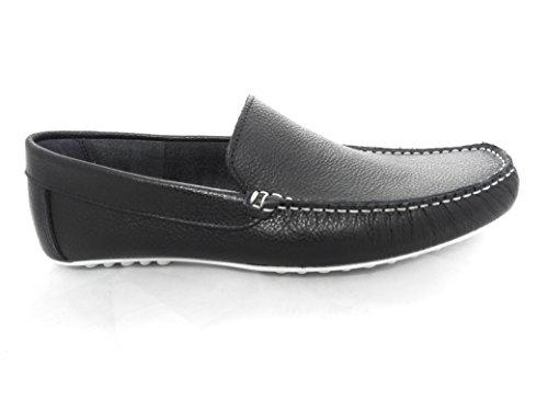Dimensione da pelle Zerimar scuro scarpe blu Mocassini uomo da uomo in colore 40 nYPgnwqf