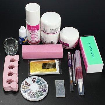 Buy Generic Clipper Acrylic Powder Liquid Glitter Brush Nail Art