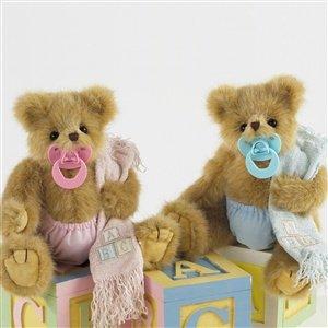 amazon com bearington collection 10 plush binky teddy bear baby
