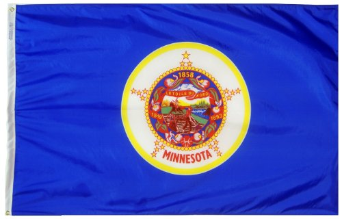 Annin Flagmakers Model 142760 Minnesota State Flag 3x5 ft. N